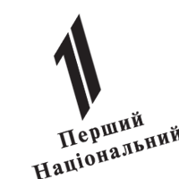 1ST NATIONAL UKR TV  vector