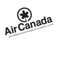 AIR CANADAlin aer vector