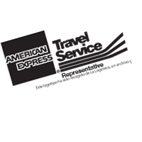 AMER EXPRES TRAVEL SERV vector