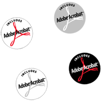 Adobe Acrobat Incl logos preview