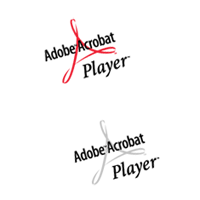 Adobe Acrobat Player logos preview