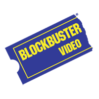 BLOCKBUSTER VIDEO  vector