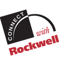 CONNECT WITH ROCKWELL  vector