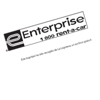 ENTERPRISE alq coches vector