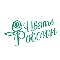 Flowers of Russia logo P348 vector