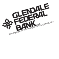 GLENDALE BANK vector