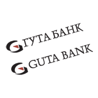 GUTA bank  vector