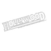 HOLLYWOOD fast food vector