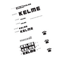 KELME mat deport vector