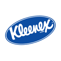 Kleenex oval logo big vector