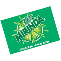 Mirinda GreenCream  vector