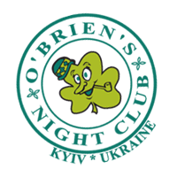 O BRIEN S NIGHT CLUB UKR vector