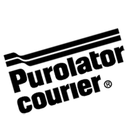 Purolator courier  vector