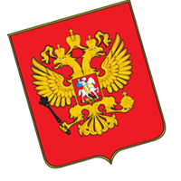 Russian federation emblem vector