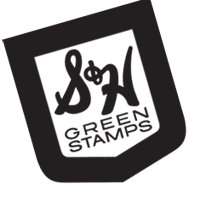 S H GREEN STAMPS  vector