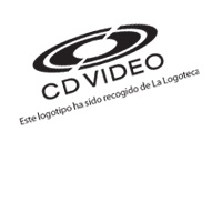 simbolo CD VIDEO vector