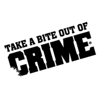 TAKE A BITE OUT OF CRIME vector