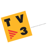 TV3 television vector