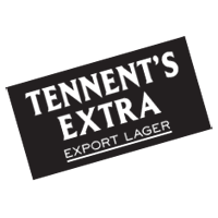 Tennent's Extra  vector