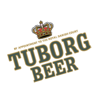Tuborg 2 LINES vector