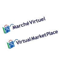 VIRTUAL MARKET PLACE  vector