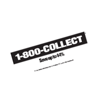 1-800-COLLECT vector