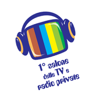 1 salone delle TV e radio private vector