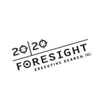 20 20 Foresight Executive Search vector