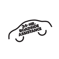 24-Hr  Roadside Assistance vector