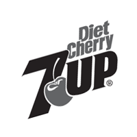 7Up Diet Cherry vector