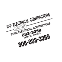 A&P Electrical Contractors vector