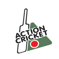 Action Cricket vector