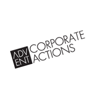 Advent Corporate Actions vector