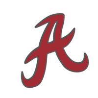 Alabama Crimson Tide 161 vector