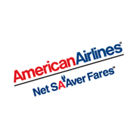 American Airlines Net SAAver Fares vector