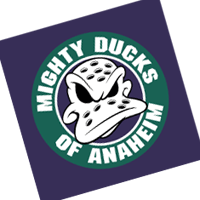Anaheim Mighty Ducks 187 vector