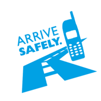 Arrive Safely vector