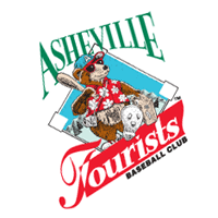 Asheville Tourists 35 vector