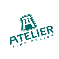 Atelier time-design vector