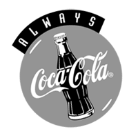 allways cocacola vector