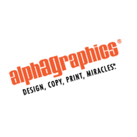 alphagraphics 1 vector