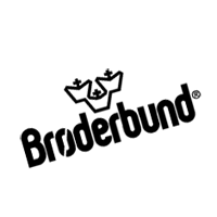 BRODERBUND SOFTWARE vector