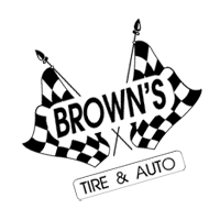 BROWNS TIRE & AUTO vector