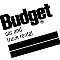 BUDGET CAR & TRUCK RENTAL vector