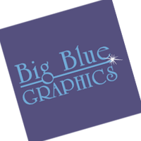 Big Blue Graphics vector