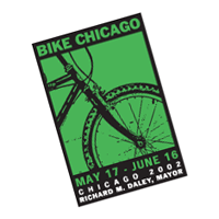Bike Chicago vector