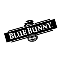 Blue Bunny Ice Cream vector