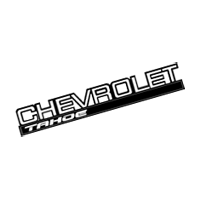 CHEVY TAHOE vector