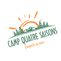 Camp Quatre Saisons vector