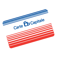 Carte Capitale vector